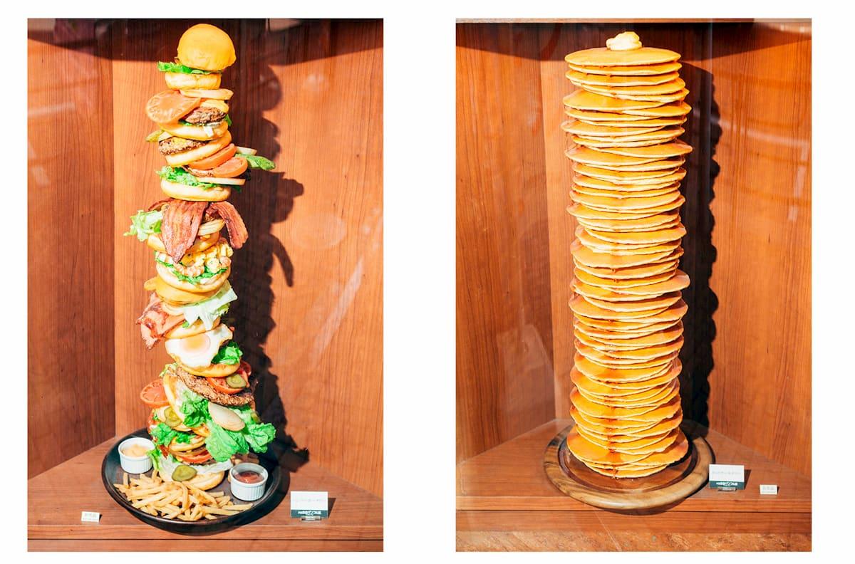 Sanpuru torres de hamburguesas de plástico